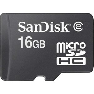 Sandisk Micro SD card 16GB Mobile