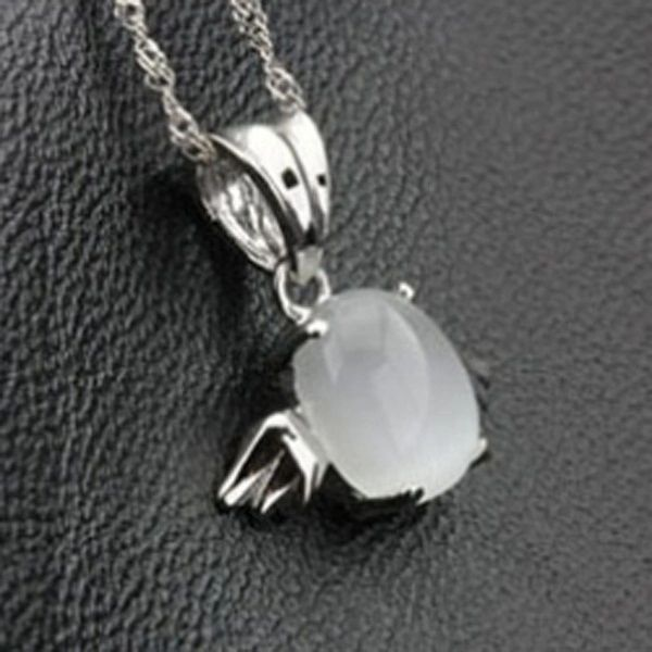 Sweet Angel Plating White Copper Pendant