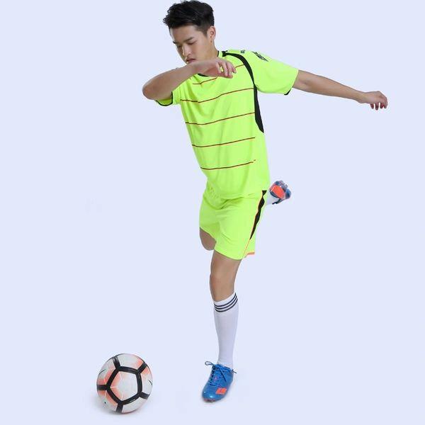 Simple Design Stripe Patchwork Sports Suits