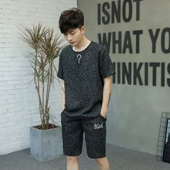 Summer Men Prints Linen Suits