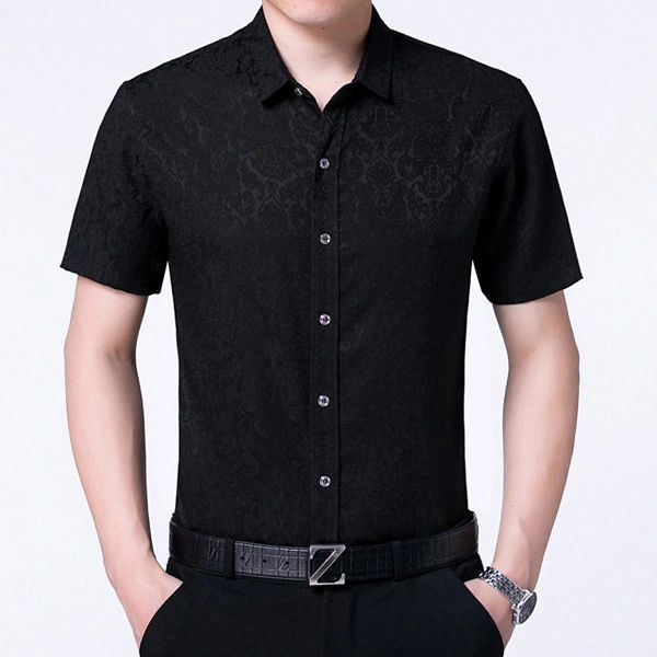 Good Quality Short Sleeve Shirt for Father (3-4 Days Delivery)