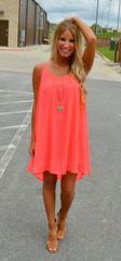 Solid Strap Casual Mini Dress