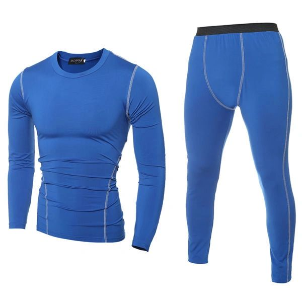 Outlet Solid Long Sleeve Sheath Sport Suit