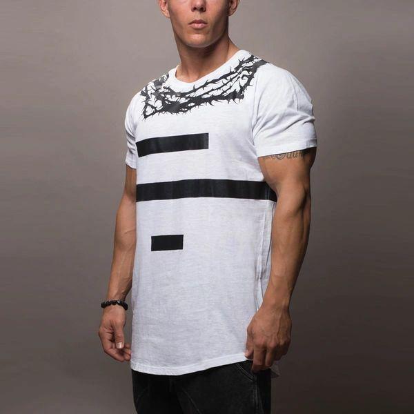 Simple Design Stripe Print Casual Shirts