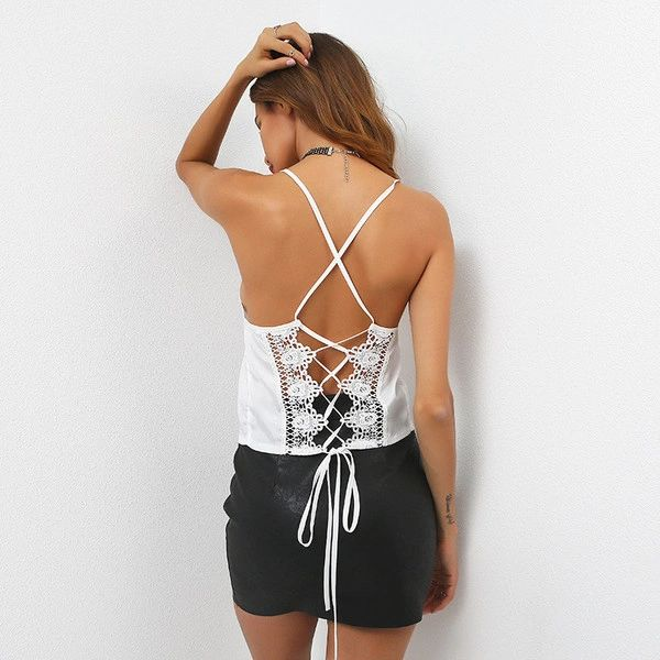 Chic Bandage Hollow Out Cami Top