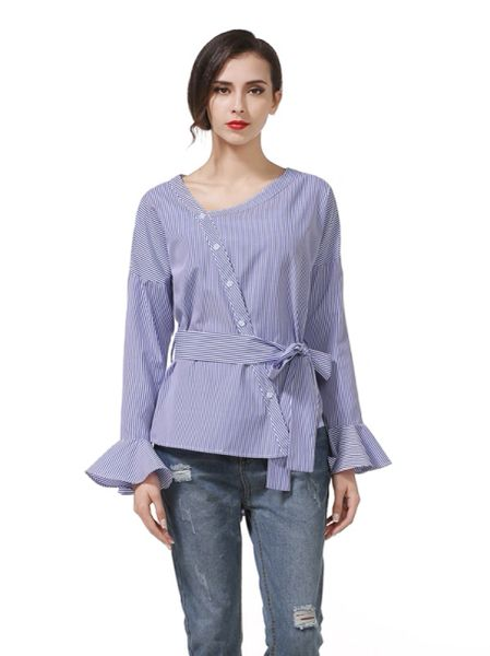 Korean Style Casual Loose Long Shirt