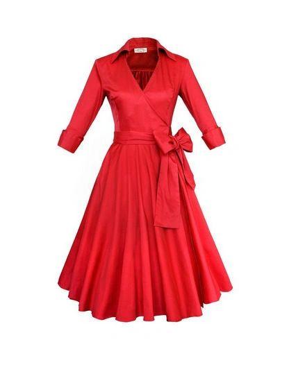 Vintage Wrinkle Party Dresses