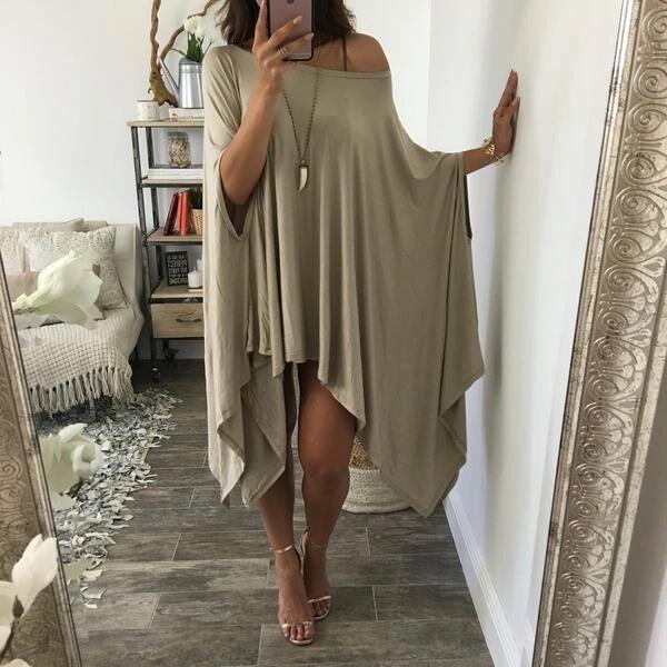 Unique Design One Shoulder Casual Dresses