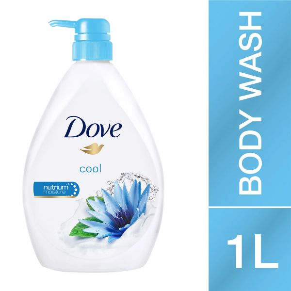 Dove Body Wash Go Fresh Cool 1L