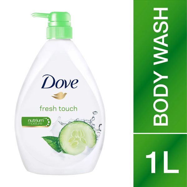Dove Body Wash Go Fresh Touch 1L