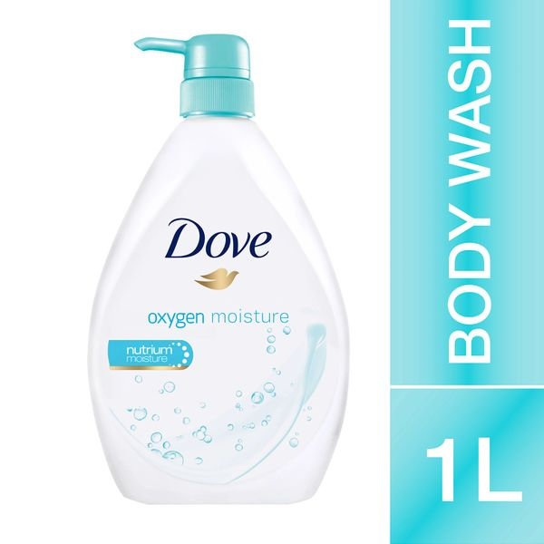 Dove Body Wash Oxygen Moisture 1L