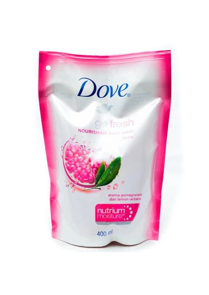 Dove Go Fresh Revive Body Wash Refill Pack 650G