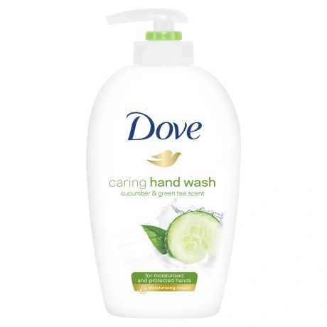 Dove Caring Hand Wash Cucumber & Green Tea Scent 250ml