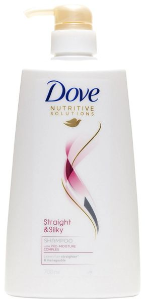 Dove Straight & Silky Shampoo 680ml