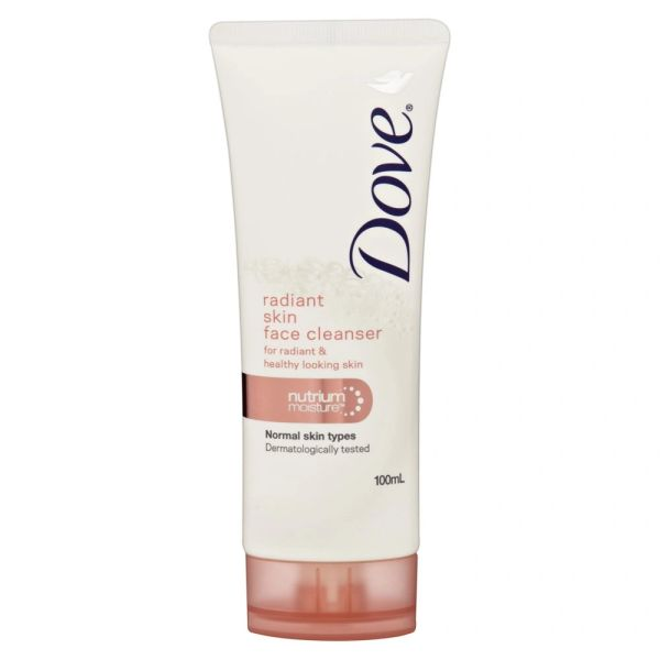 Dove Radiant Skin Face Cleanser 130g