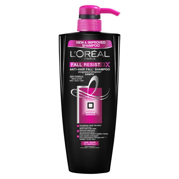 L'Oreal Fall Resist 3x Shampoo 650ml