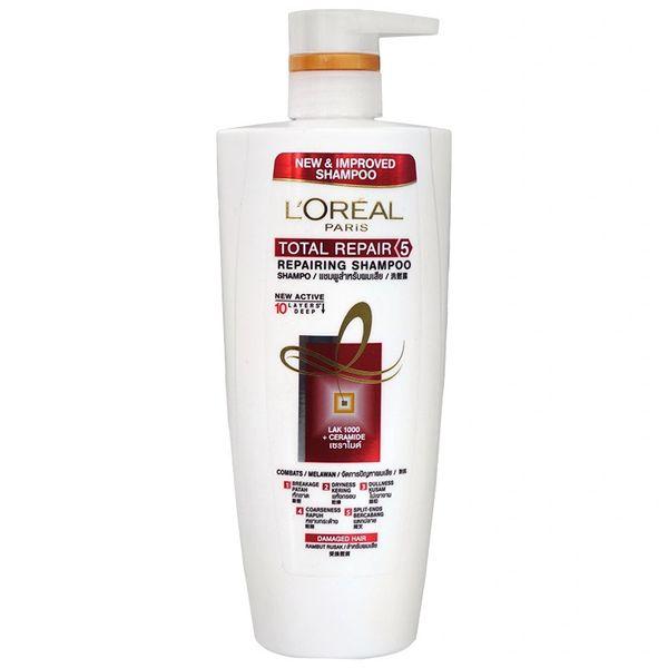 L'Oreal Total Repair 5 Shampoo 650ml