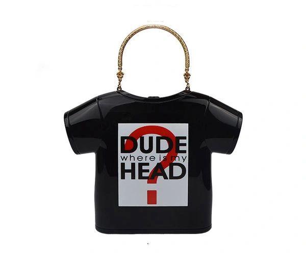 Unique Design T-Shirt Shape Handle Bag
