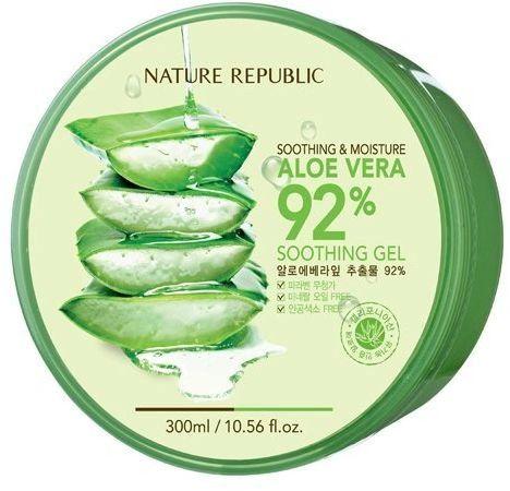 Nature Republic Smoothing & Moisture Aloe Vera 92% Soothing Gel 300ml