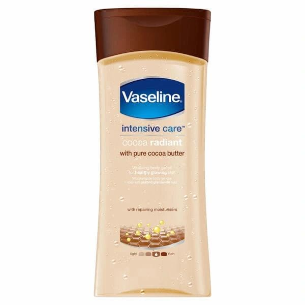 Vaseline Cocoa Radiant With Pure Cocoa Butter 200ml
