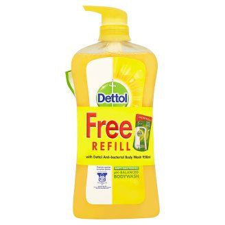 Dettol Fresh Body Wash 950ml Free Refill Original 250ml