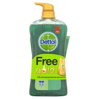 Dettol Daily Clean Body Wash 950ml Free Refill 250ml