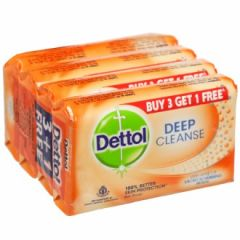 Dettol Deep Cleanse Soap Buy 3 Get 1 Free