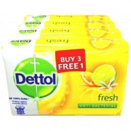 Dettol Fresh Soap Buy 3 Get 1 Free