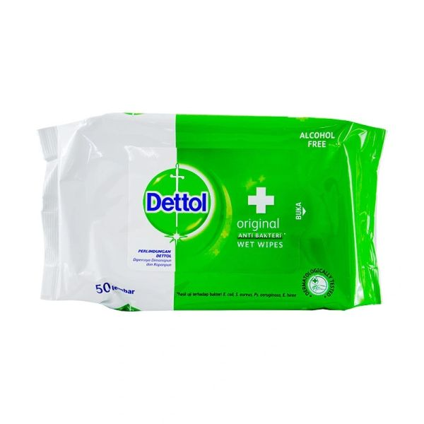 Dettol Original Wet Wipes 50 Sheets