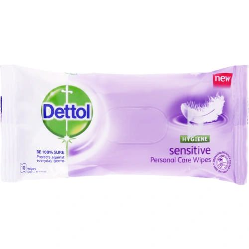 Dettol Sensitive Wet Wipes 10 Sheets