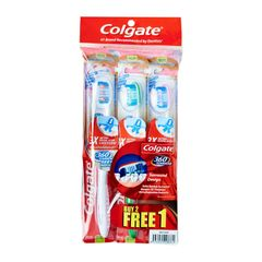 Colgate 360 Surround Toothbrush - Medium