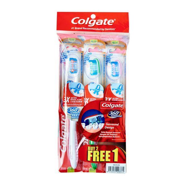 Colgate 360 Surround Toothbrush - Medium