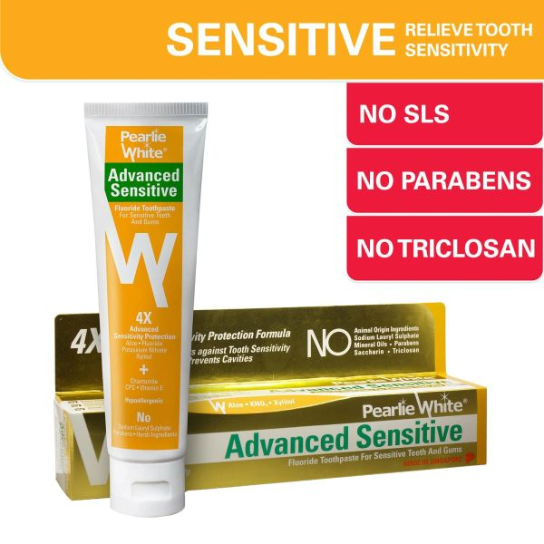 Pearlie White Advanced Sensitive Toothpaste 130 g