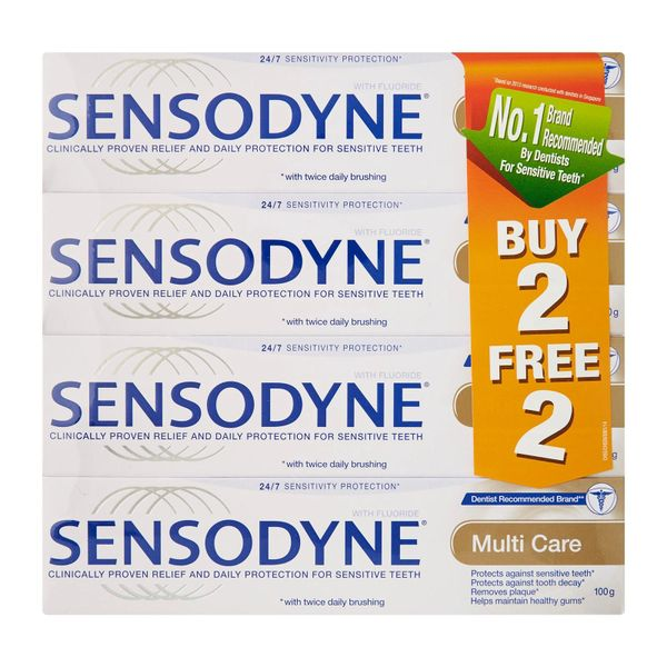 Sensodyne Multi Care 100G (Buy 2 Free 2)