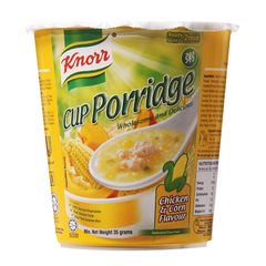 Knorr Chicken And Corn Cup Porridge 35g