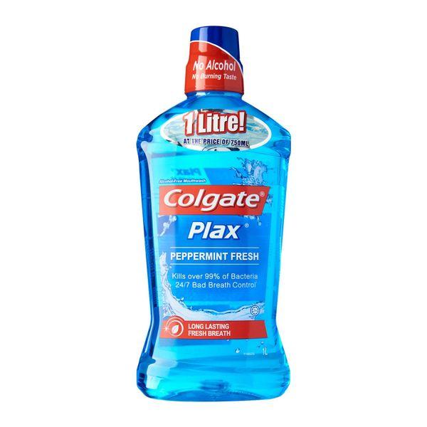 Colgate Plax Peppermint Mouthwash 1 L