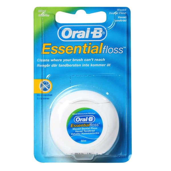Oral-B Essential Floss Mint Waxed Dental Floss