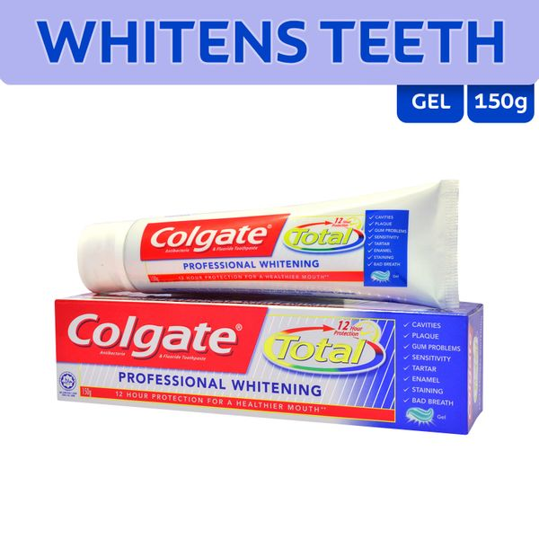 Colgate Total 12 Toothpaste Pro Whitening 150 g