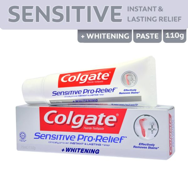 Colgate Sensitive Pro-Relief Whitening Toothpaste 110 g