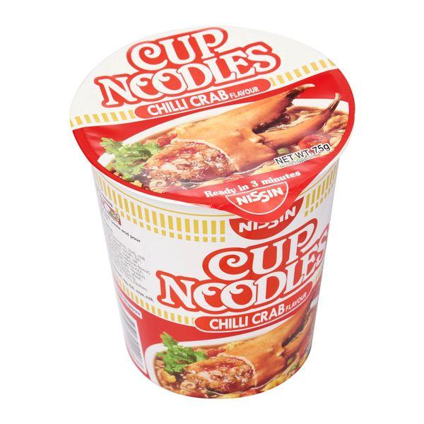 Nissin Chilli Crab Flavour Cup Noodles 75g