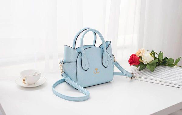Unique Design Cat Ear Zipper Fashion Handle Bag