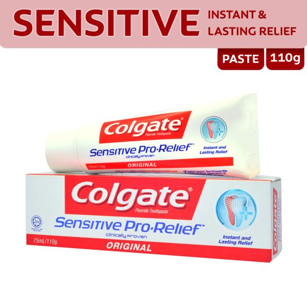 Colgate Sensitive Pro-Relief Fluoride Toothpaste 110 g