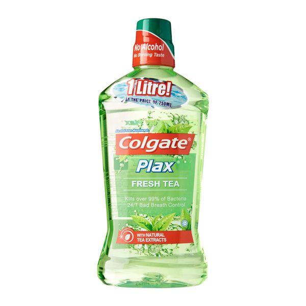 Colgate Plax Fresh Tea Mouthwash 1 L