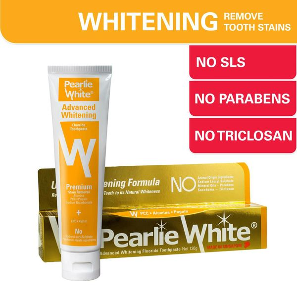 Pearlie White Advanced Whitening Toothpaste 130 g