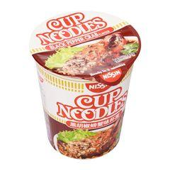 Nissin Black Pepper Crab Flavour Cup Noodles 81g