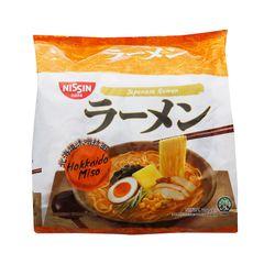 Nissin Ramen Hokkaido Miso Instant Noodles 5 x 116g