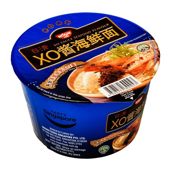 Nissin XO Sauce Seafood Bowl Noodles 112g