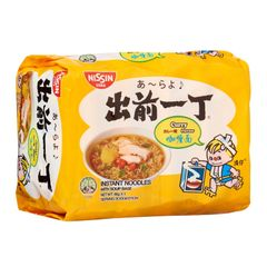 Nissin Chu Qian Yi Ding Curry Instant Noodles 5x 85g