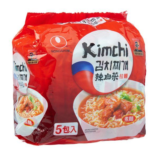 Nongshim Kimchi Ramyun Flavour Instant Noodles 5 x 120g