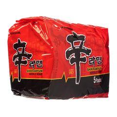 Nongshim Spicy Mushroom Shin Ramyun 5 x 120g